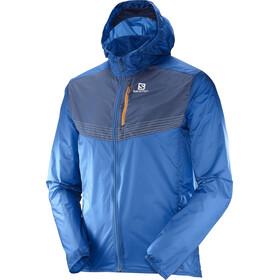 Salomon M's Fast Wing Aero Jacket Myconos Blue/Dress Blue